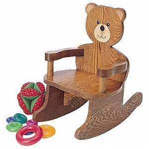 Teddy Bear Rocking Chair Plan - Rockler Woodworking Tools