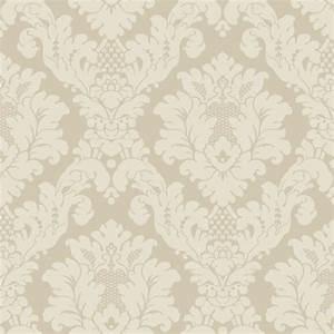 Arthouse Opera Da Vinci Damask Textured Wallpaper Cream