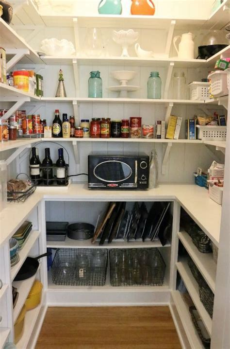 How To Organize A Pantry   Wire baskets, Countertops and