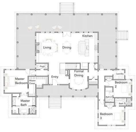 ideas  open floor plans  pinterest open