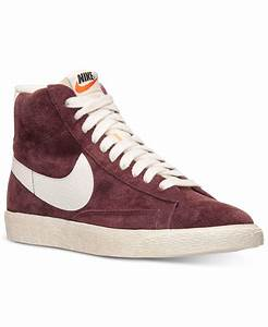 Lyst Nike Women'S Blazer Mid Suede Vintage Casual Sneakers From Finish Line in Purple for Men