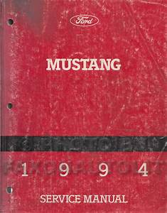1994 Ford Mustang Electrical  U0026 Vacuum Troubleshooting Manual Original