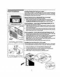 Frigidaire Fak083j7v4 User Manual Air Conditioner Manuals