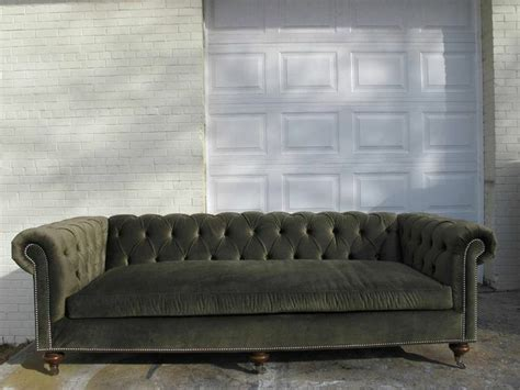chesterfield sofa velvet fabric ralph tufted chesterfield sofa luxury green