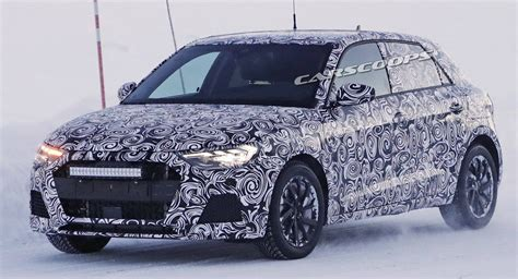 2019 Audi A1 Scooped Playing In The Snow Motorshout