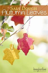 Salt Dough Recipe--Autumn Leaves