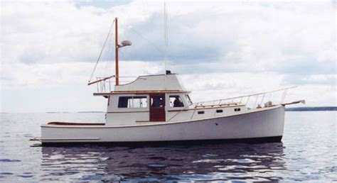 Lobster Boat Diy by Downeast Boat Plans For Sale Diy Sail