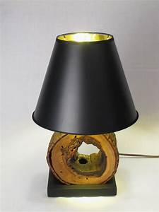 Night, Stand, Lamps, From, Wood, Logs, U2022, Id, Lights
