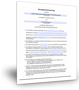 Gewerblicher Mietvertrag Muster Standardvertraegede