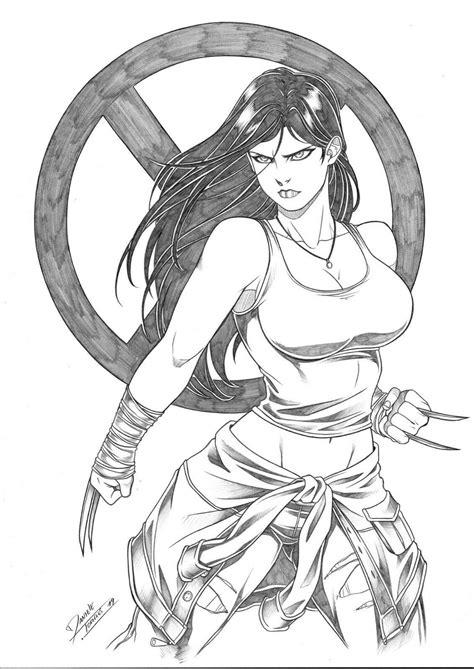 X-23 by Daniele Torres | Drawings, Comic books art, Comics