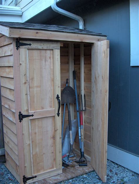 Ana White   Mini Cedar Storage Shed   DIY Projects