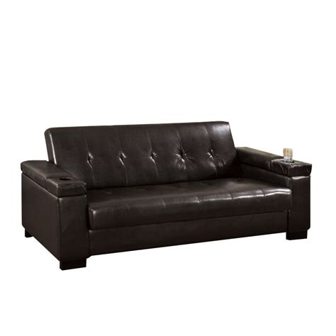 furniture of america sofa reviews furniture of america cassia leather sleeper sofa in