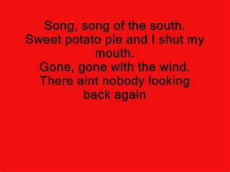 Song Of The Southalabama (lyrics) Youtube
