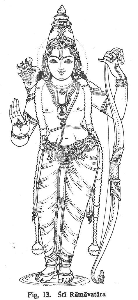 Sri Ramavatara | Hindu Gods Coloring Book | Pinterest | Écriture scripte, Inde et Écriture
