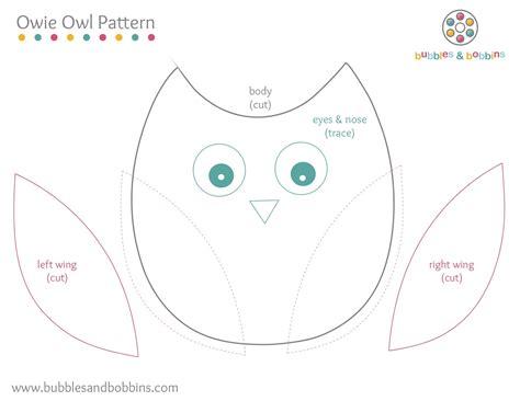 Owl Template Owie Owl Pattern
