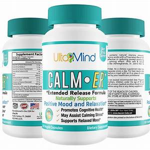 Amazon Com  Anxiety Supplement With Natural Stress Relief
