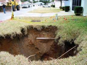Sinkholes Ocala Florida