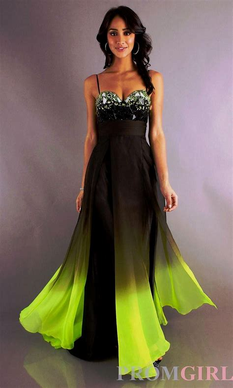 Black And Lime Green Wedding Dress Oosile
