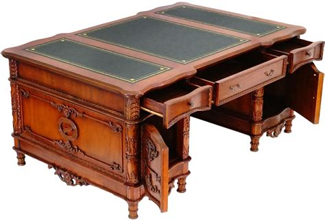 bureau anglais bureau ambassadeur style anglais acajou caister meuble