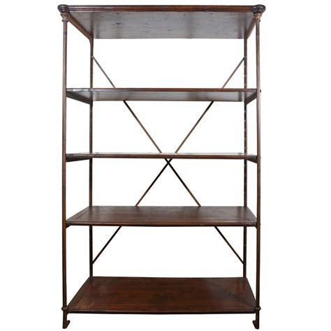 Antique French Iron Etagere At 1stdibs
