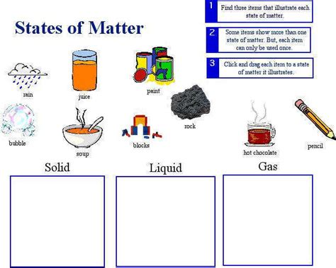 identifying states of gas matter worksheet solids liquids and gases worksheets homeschooldressage