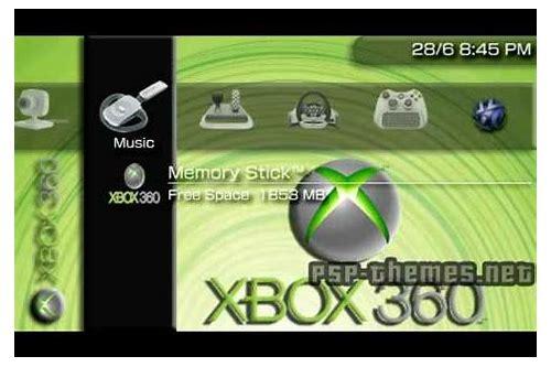 Download xbox theme for psp :: lenpartnanti
