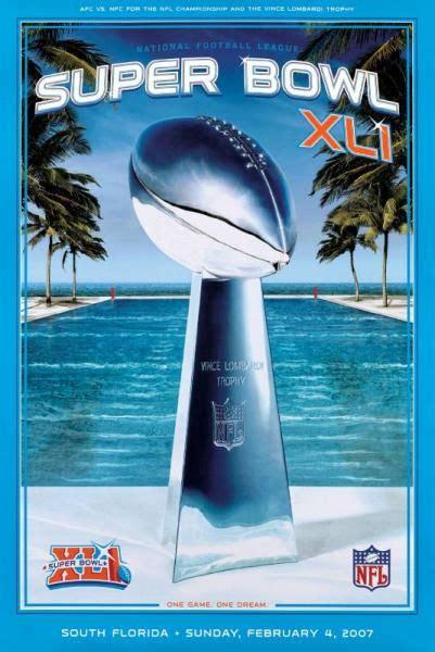25 Excellent Super Bowl Poster Designs Super Bowl