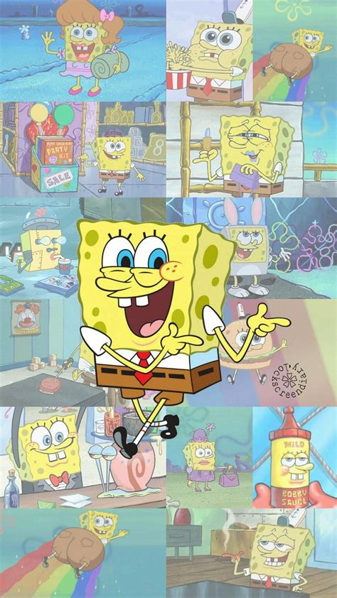 aesthetic wallpaper spongebob