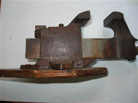 vintage woodworking vice