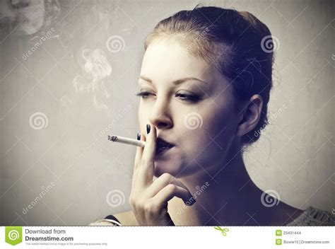 Beautiful Women Smoking Cigarettes Male Models Picture
