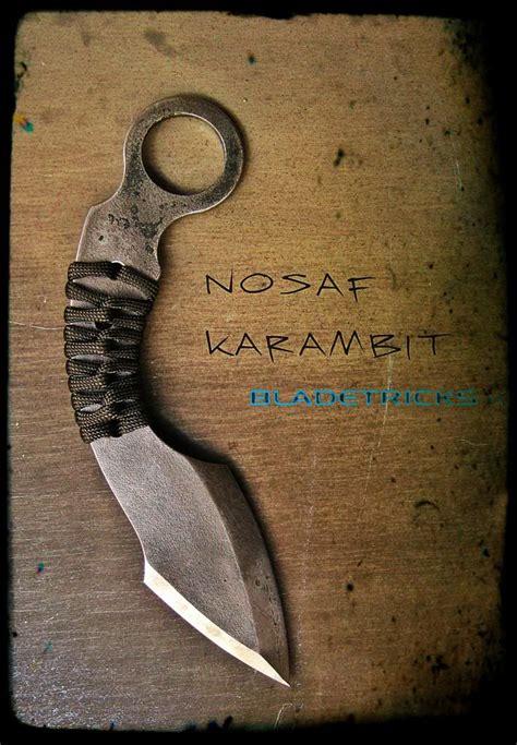 nosaf karambit edge weapons   kinds pinterest