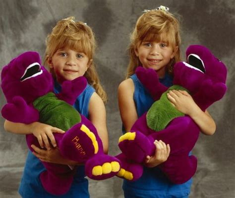 Olsen Twins With Barney!!!!  90's Do You Remember