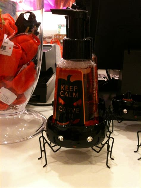 Bath and Body works Halloween scented soap and holder. So ...