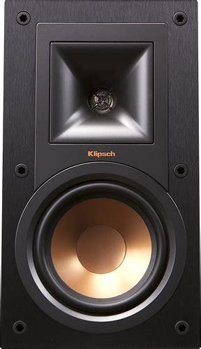 klipsch bookshelf speakers klipsch reference 5 1 4 quot bookshelf speakers pair black r