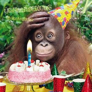 Geburtstag Humor Grußkarte Googlies PopShot Birthday