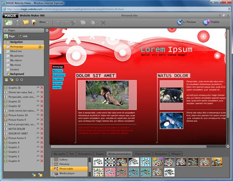 Creator Free by Magix Website Maker Mx Free Software Reviews