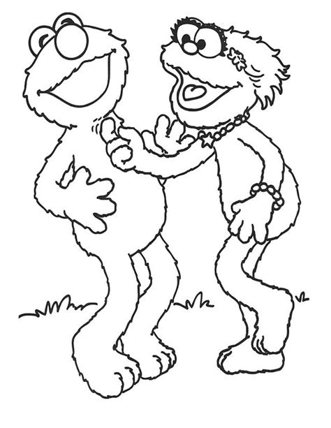 free printable coloring pages free printable elmo coloring pages for