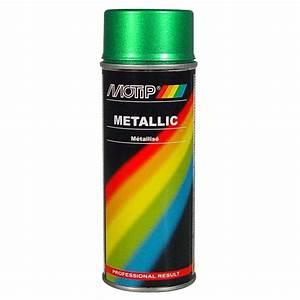 Bombe Peinture Metal : bombe de peinture vert m tallis 400ml ~ Nature-et-papiers.com Idées de Décoration