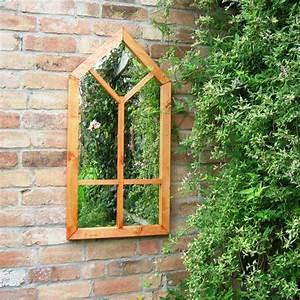 Petit Bois Fenetre : miroir de jardin comment l 39 utiliser pour une d co originale ~ Melissatoandfro.com Idées de Décoration
