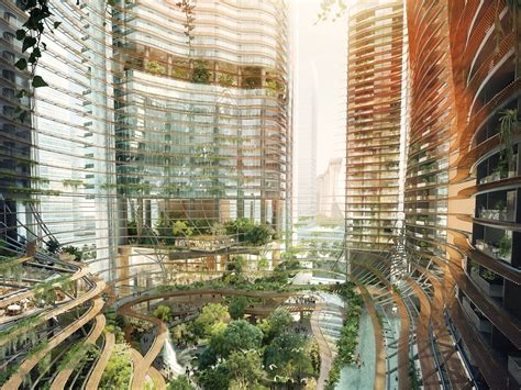 Singapore Building Entire Forest High Rise