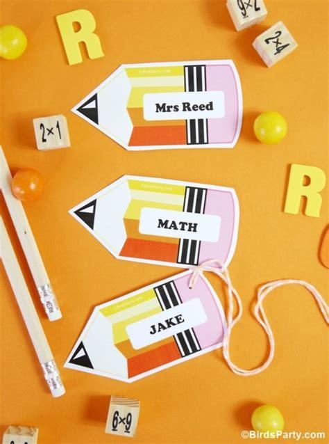 diy creative  tags    school tip junkie