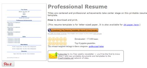 4 Websites To Get Free Resume Templates For Word. Sample Veteran Resume. How To Write A Basic Resume. How To Create A Job Resume. Server Resume Duties. What's A Cover Letter For A Resume. Sending A Resume Via Email Sample. Best Resume Title For Freshers. Resume Templates Pages