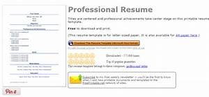 4 Websites to Get Free Resume Templates for Word