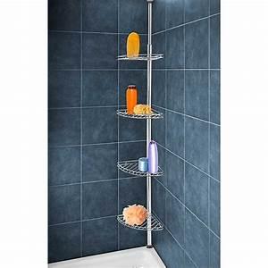 Etagere Dans La Douche : etag re pour douche t lescopique en inox am nagement de ~ Edinachiropracticcenter.com Idées de Décoration