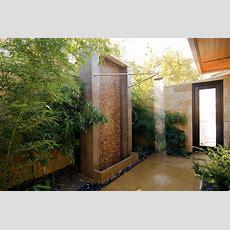 61 Luxuriant Outdoor Showers & Outdoor Bathtubs Exuding