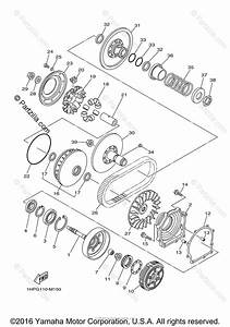 Yamaha Atv 2014 Oem Parts Diagram For Clutch