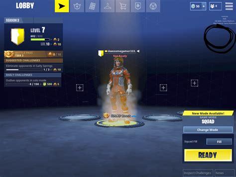 ios    invite  friends   lobby  fortnite