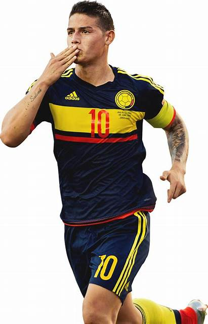 Rodriguez James Render Footyrenders Football