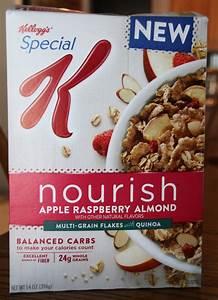 Review: Kellogg's Special K Nourish Apple Raspberry Almond ...