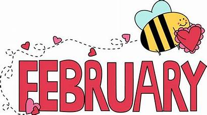 Month Birthday February Clipart Months Clip Word